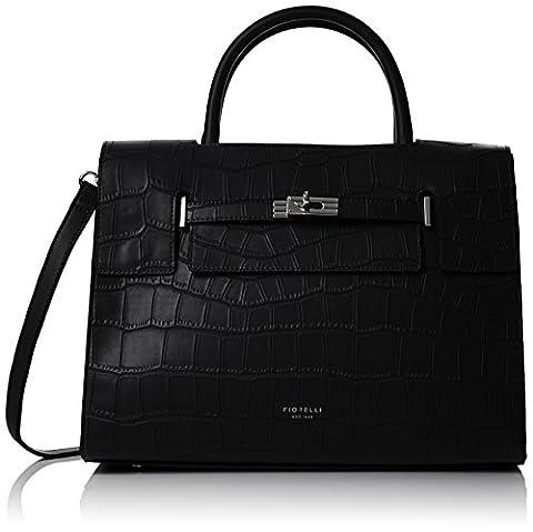 Fiorelli Harlow, Sac femme - noir - Black (black Croc), One Size