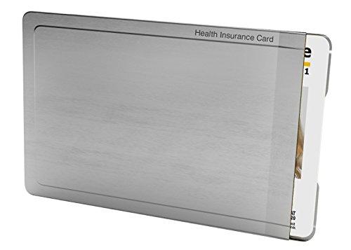 Preisvergleich Produktbild CardTresor Note Kartenschutzhülle mit Randbeschriftung Krankenkasse, RFID/NFC-Schutz