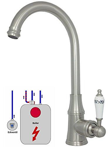Küchenarmaturen ausziehbar Spültischarmaturen Küche Niederdruck Wasserhahn Durchlauferhitzer Einhebelmischer Mischbatterie