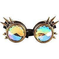 Btruely Herren_Gafas de Sol Kaleidoscope Gafas Mujeres y Hombres Gafas de caleidoscopio Rave Festival Party Lentes