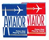 Cartes Aviator - Cartes Poker - Cartes Aviator rouge