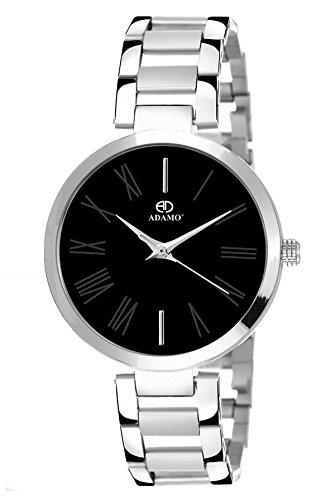 ADAMO Enchant Analog Black Dial Women's Watch-2480SM02