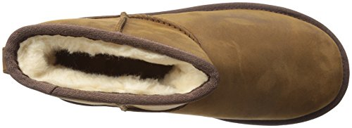 UGG Australia Mini Classic Leather, Scarpe a Collo Alto Donna Nocciola
