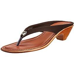 Bata Women's Aroma Th. Brown Slippers - 6 UK/India (39 EU) (6714133)