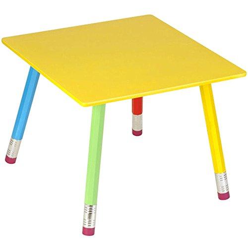 La chaise longue 32-E1-008 Table Enfant Crayons géants Multicolore Bois et métal