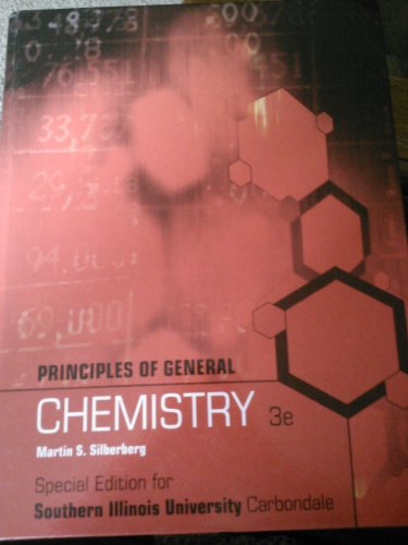 Principles of General Chemistry 3e (Special Edition for Southern Illinois University Carbondale)