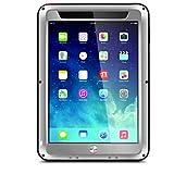 Hülle Für Apple Stoßresistent Wasserfest Wasser / Dirt / Shock Proof Handyhülle für das ganze Handy Volltonfarbe Hart Metal für iPad Mini ( Farbe : Gelb , Kompatible Modellen : IPad mini 1/2/3 )