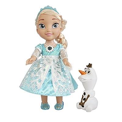 Disney Frozen - Muñeca Elsa, brillo de nieve [canta en inglés] por Jakks
