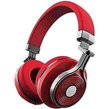 Bluedio T3 (Turbina 3) Cuffie Wireless Bluetooth 4.1 Stereo (Rosso)