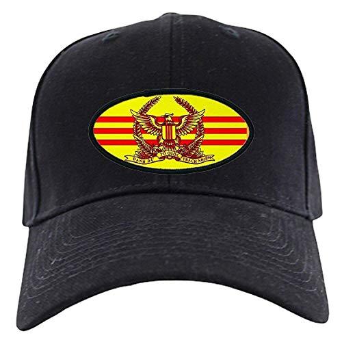 Bgejkos Südvietnamesische Armee-Baseball-Mütze - Baseball-Mütze, Schwarze Kappe der Neuheit QW607 -