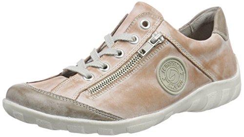 Remonte Dorndorf R3408, Sneakers basses femme Rose (Steel/Rosa/31)