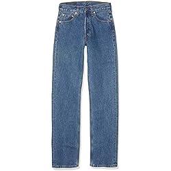 Levi's 501 Original Straight Fit Coupe-Droite jeans Bleu (Stonewash) W32/L32