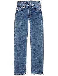 Levi's 501 Original Straight Fit Coupe-Droite jeans Bleu (Stonewash) W31/L30