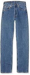 Levi's 501 Original Fit - Die klassische Männer Jeans mit geradem Schnitt - für den originalen Levi's Look, Blau (Stonewash 0114), 32W / 32L