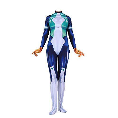 Superhelden Kostüm College - Kind Erwachsener Hero College Kostüm Superhelden Cosplay Verkleidung Halloween Mottoparty Strumpfhosen 3D Druck Spandex Onesies,Child-XS