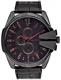 Reloj hombre Louis Villiers acero negro 50 mm lvag8912 – 9
