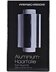 Fripac-Medis Aluminium-Haarfolie Rolle 250 m x 12 cm 15 my F-1221, Silber