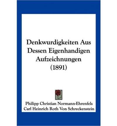 denkwurdigkeiten-aus-dessen-eigenhandigen-aufzeichnungen-1891-paperbackgerman-common