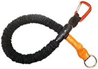 Extenseur de laisse traindee® - lorsque le chien tire fort sur la laisse - amortisseur standard 0,5 m noir, laisse de formation pour chien