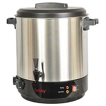 ROBBY - Stérilisateur électrique avec robinet et minuteur 31l 2100w inox - steri pro inox xl