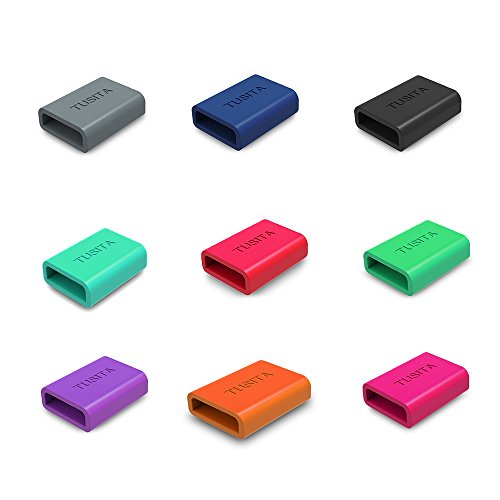 tusitar-9-pack-silicon-fastener-ring-for-fitbit-alta-fitbit-flex-fitbit-alta-hr-garmin-vivosmart-gar
