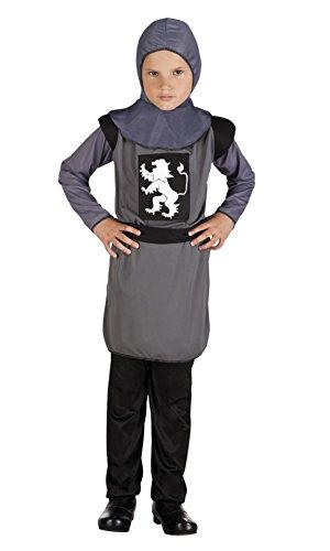 erdbeerclown - Jungen Karneval Komplett Kostüm Ritter Sir Galahalt, 4-6 Jahre, (Kostüm Prinz Eisenherz)