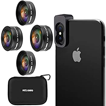 Iboolo Objectif Photo Zoom Optique x2 Universel pour Smartphone: Amazon.fr: High-tech