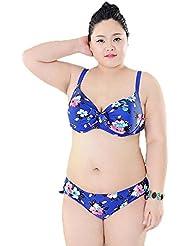 AMYMGLL Mme Bikini Europe et aux États-Unis, même maillot de bain grande élasticité piscine environnement piscine pataugeoire