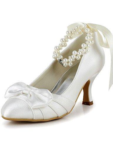 WSS 2016 Chaussures de mariage-Ivoire / Blanc-Mariage / Habillé / Soirée & Evénement-Talons / Bout Arrondi-Talons-Homme 2in-2 3/4in-white
