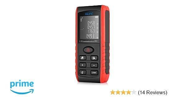 Kaleas Profi Laser Entfernungsmesser Ldm 500 60 Bedienungsanleitung : Laser entfernungsmesser inlife m messgerät digitales
