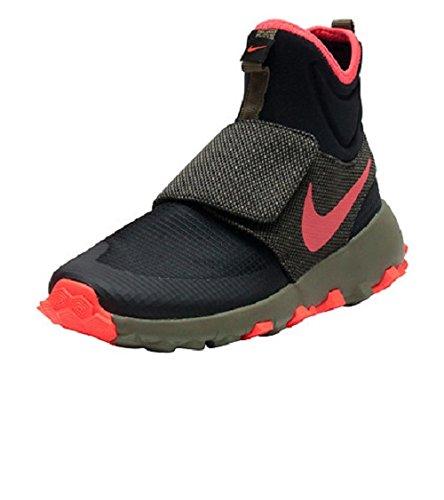 Nike 859621-003, Scarpe da Basket Bambino Nero
