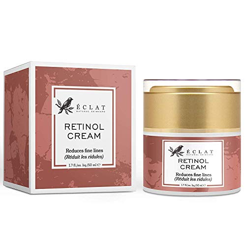 2,5% Retinol Gesichtscreme hochdosiert mit Vitamin C für ein verbessertes Hautbild - Hochwirksame...