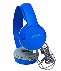 Xiaomi Redmi 3S Prime Compatible Signature Brand High Quality VM-61 Pro High Definition Headphones For Iphone,Samsung, Redmi And All Other Smartphones (Blue Color)