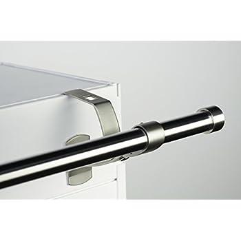 1 support sans per age design pour tringle rideaux diam tre 20 mm sp cial coffre de volet. Black Bedroom Furniture Sets. Home Design Ideas