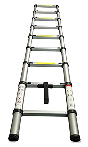 Work Expert Deluxe Telescopic Foldable Extendable Multi Purpose Ladder
