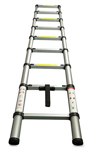 Work Expert Deluxe Telescopic Foldable Extendable Multi Purpose Ladder (3.8M)