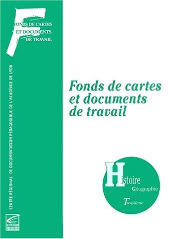 Fonds de cartes, recueil histoire-géographie, 3e par Collectif (Broché)