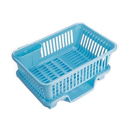 Mouchao Washing Holder Basket Rack Storage Dry Shelf Cutlery Drainer Kitchen Gadget Blue Gadget-rack