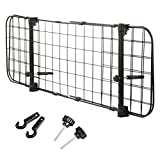 TIMESETL Heavy Duty Pet Dog Car Barrier,Adjustable Mesh Dog Guard,Vehicle Fence Protector, Universal Car Pet Dog Guard Wall for Cars, Suitable for Pets