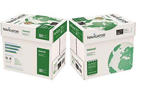 Navigator Universal - Papel de impresión 5000 hojas (A4, 10 x 500 hojas, 80...