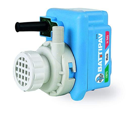 Wasserpumpe Battipav für Tischsägen und Brückensägen | 850 Lt./H | Plus gratis Werkmax Mini-Wasserwaage