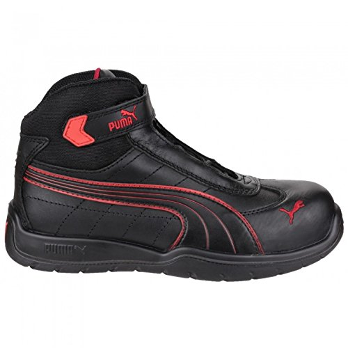 Puma Safety Daytona Mid Red - Chaussures Basket montante Homme