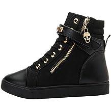 Zapatillas de Invierno Sala para Mujer Zapatos Deportivos Plataforma por ESAILQ F