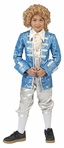 Barock Kostüm Johann mit Gehrock für Jungen - Gr. 140 -