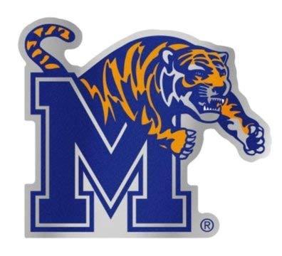 Wincraft Snack-Schale NCAA Universität Memphis Tigers 12,3x 8,9cm Zoll Kunststoff Auto Badge Aufkleber Aufkleber -