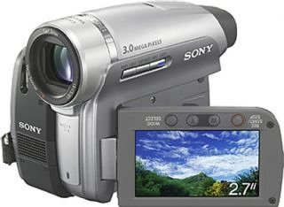 Sony DCR-HC96 Handycam Mini DV camcorder [ Carl Zeiss T* lens, 10 x optical, 3 Megapixel, DV-in]