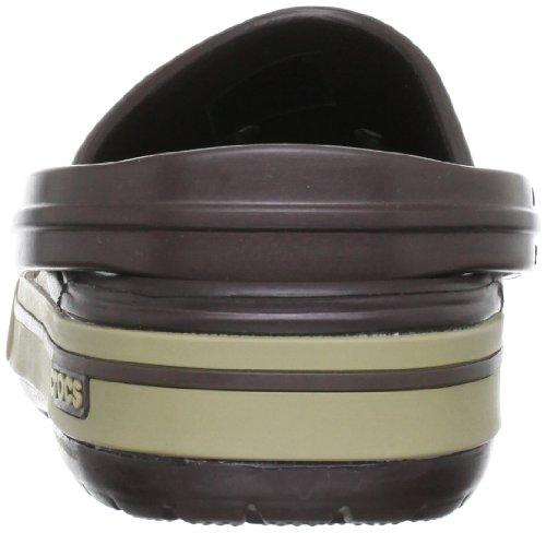 Scarpe Crocband Zanne Zoccolo Marrone 5 Espresso Unisex Cachi Ii caffè rq7Iqd6