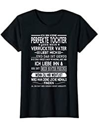 Damen ich bin keine perfekte tochter T-Shirt