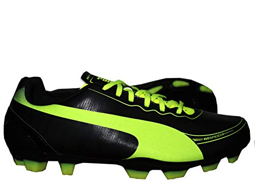 Puma fußballschuhe Evospeed 5.2 FG junior schwarz/gelb Größe 36,5
