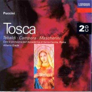 Puccini-Tosca-Tebaldi-Académie St Cécile Rome-Erede-